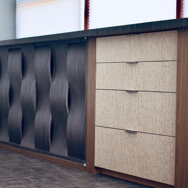 Herr's Dresser w/ Built in T.V. Lift