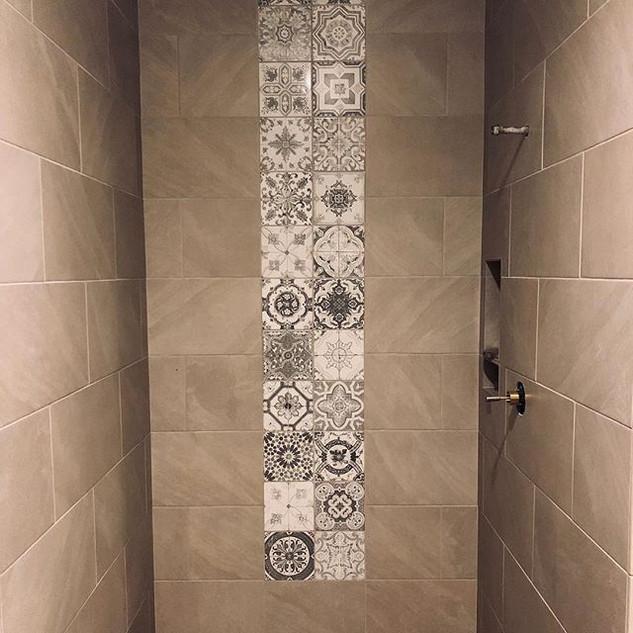 Interior Design Project. Executive Bathr