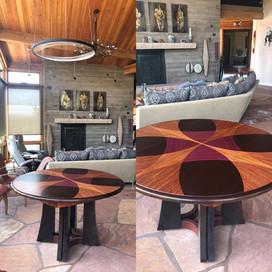 Custom Inlay Dining Table