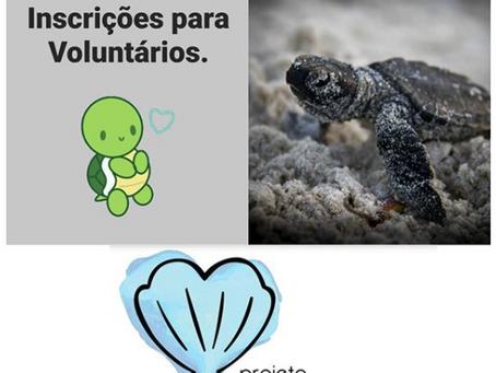 Vagas para VOLUNTÁRIOS(AS) no Projeto (a)mar!