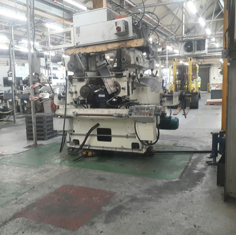 machine ready to skate across factory