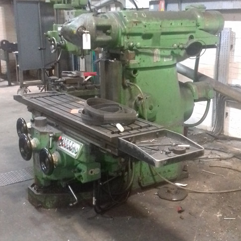 miller machine removed