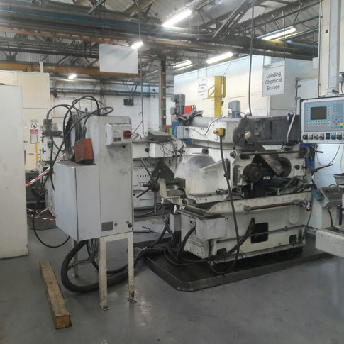 machine relocated in same factory