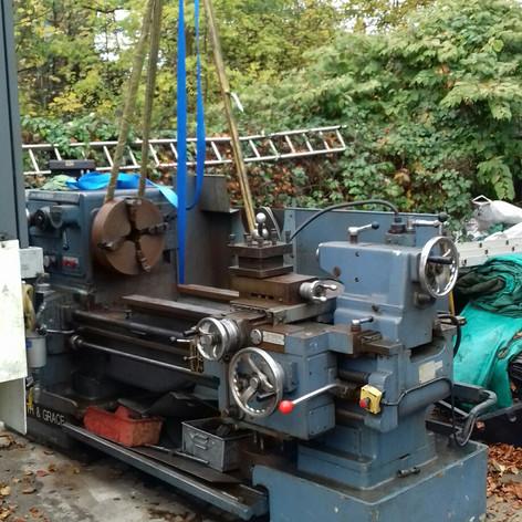 laith machine removed