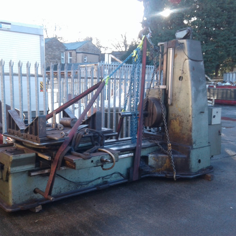 machine removed for export