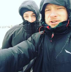 Behind the scenes an der Nordsee