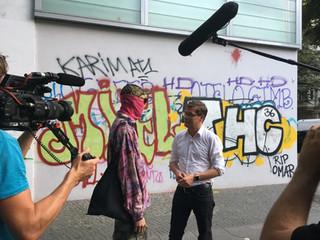 Behind the scenes bei Art in the City / SKY