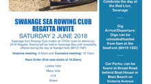 SSRC Regatta Invitation, 2 June 2018