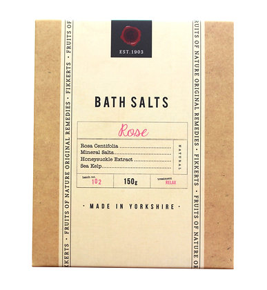 Bath Salts (Rose) 150g