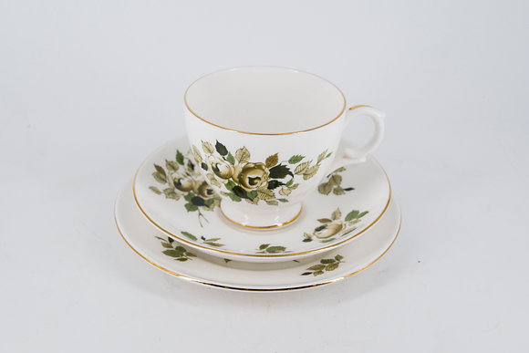 1930's Fine Bone China Staffordshire Tea Cup Set