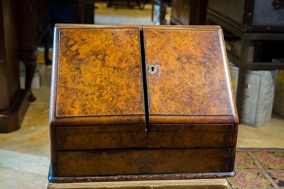 C1860 Walnut Stationery Cabinet