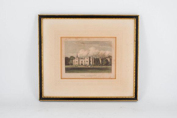 1820年代 村莊鋼刻版畫