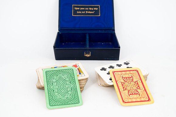 "Vintage ""Patience"" Playing Card Set"