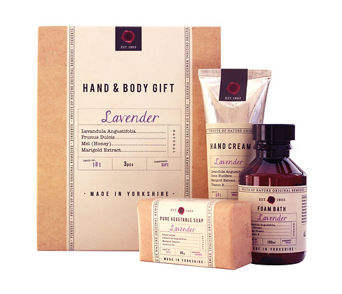 Hand and Body Gift Set (Lavender)