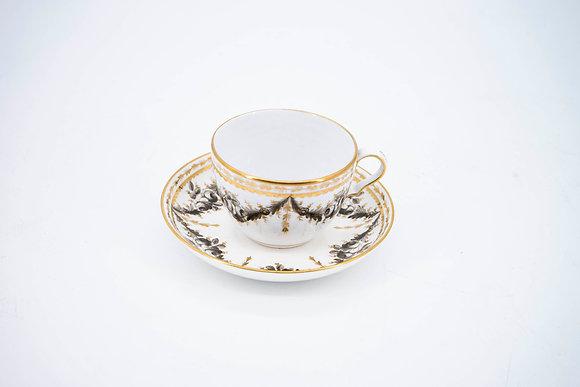 C1851-85 W.T. Copeland & Sons Tea Cup Set