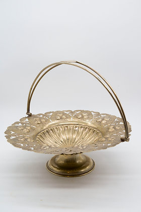 c 1910-40s EPNS Basket Bowl