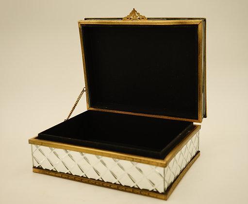 鏡面化妝盒(銀)
