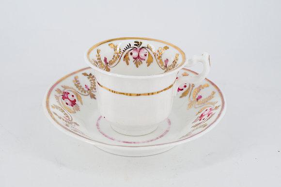 1940-60年代 少女情懷 茶杯+杯碟