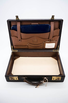 1970s Briefcase with key
