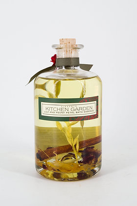 Kitchen Garden Lily and Peony Petal Bath Essence 500ml