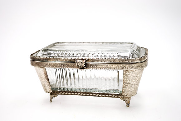 FANCY SWEET BOX (SILVER)