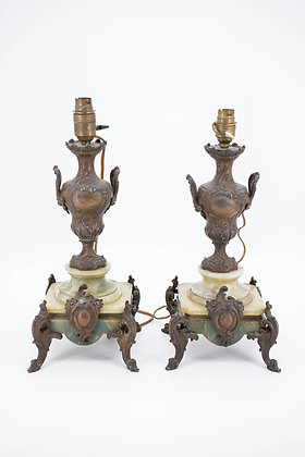 Antique french electric lamp holder(a Pair)
