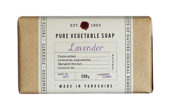 Pure Vegetable Soap 200g (6 Fragrances)