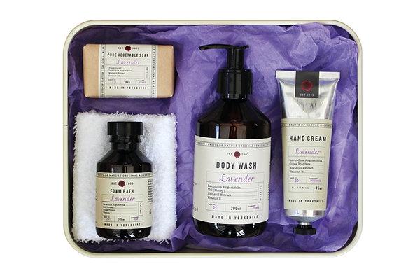 Tin Gift Set (Lavender)