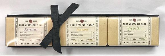 肥皂禮品套裝-A(薰衣草,茉莉,綠茶)