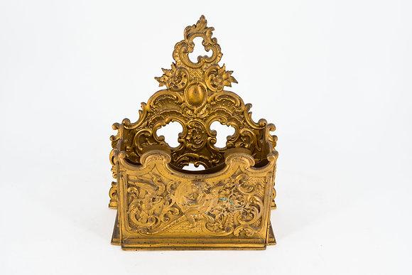 維多利亞時代黃銅置物架