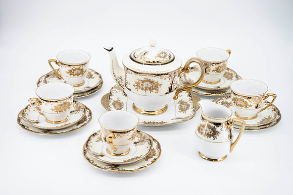 "C1950's ""Meito China"" Hand Painted Tea Set."