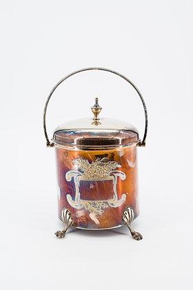 """1900年 """"羅伯特·普林格"""" 鍍銀罐手提冰桶"""