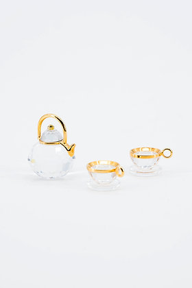 "1996 Swarovski Crystal Memories ""Tea Set"""