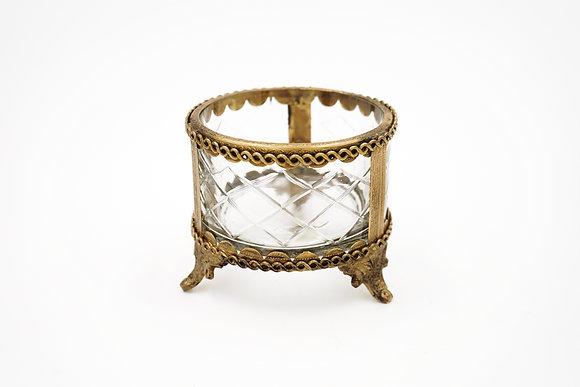 DECORATIVE BOX (GOLD)