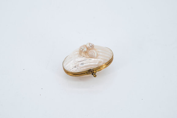 Seashell Trinket/ Pill Box