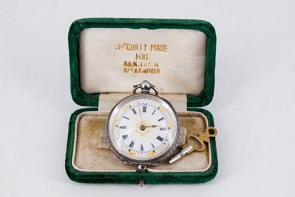 C1888-1906 Swiss Pocket 935 Silver Watch