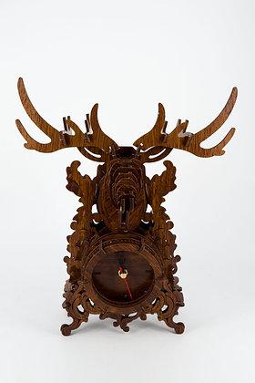 DIY Wooden Deer Clock