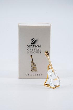 "1993 Swarovski Crystal Memories ""Guitar Gold"""
