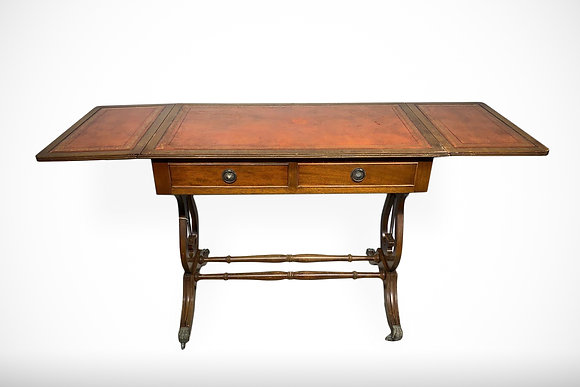 C1860 Victorian Antique Writing Table