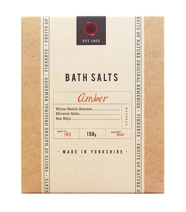 Bath Salts (Amber) 150g
