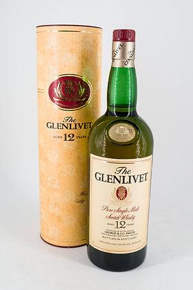 Glenlivet 12 Year Old Single Malt Old Bottling