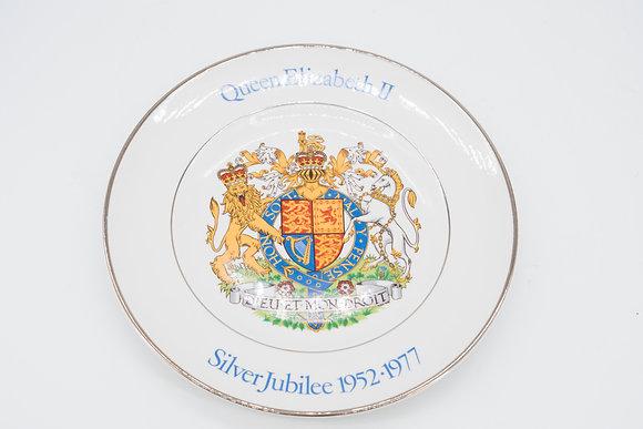 1977 Queen Elizabeth Silver Jubilee Plate