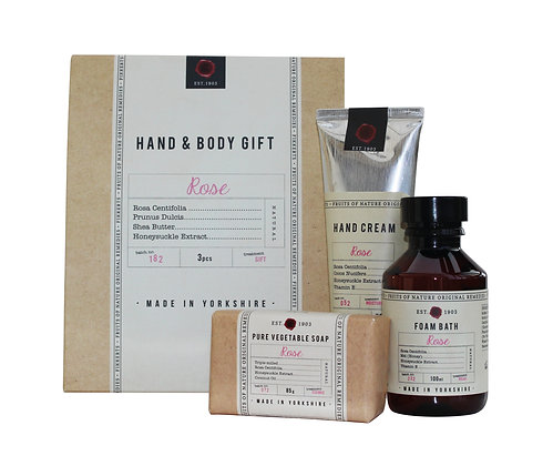 Hand and Body Gift Set (Rose)