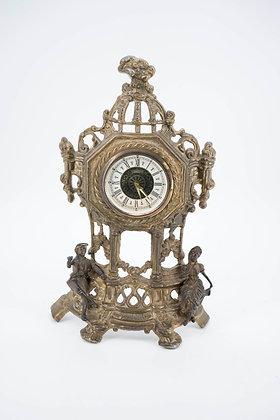 1940-50 Bronze Table Clock