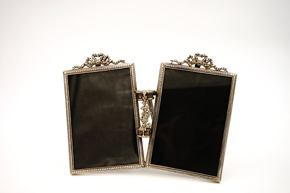TWIN PHOTO FRAME (SILVER)