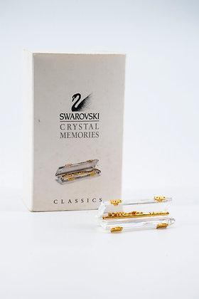 "1995 Swarovski Crystal Memories ""Flute Gold"""