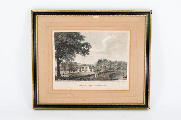 1800年代  風景鋼刻版畫