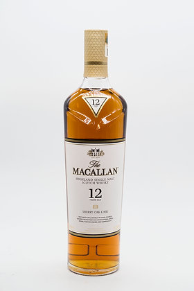 The Macallan 12 Year Old Sherry Oak 2019