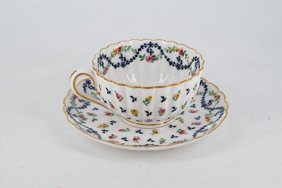 Royal Worcester England Tea Cup Set