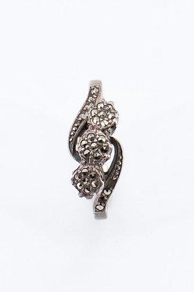 Silver Trio Ring